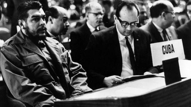 El Che como representante de Cuba