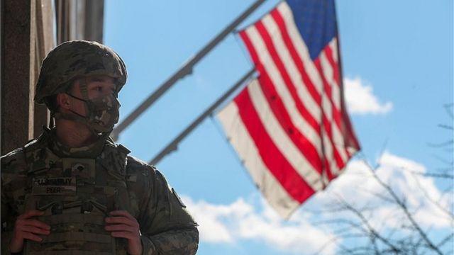 Військові прийшли на допомогу правоохоронцям у Вашингтоні
