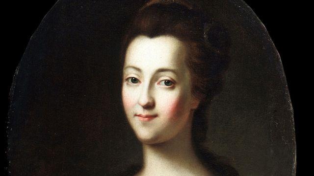 Pintura de Catarina, a Grande