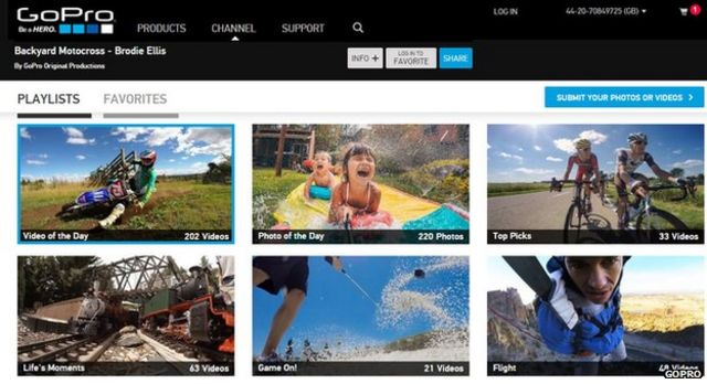 GoPro launches licensing site to help users sell clips