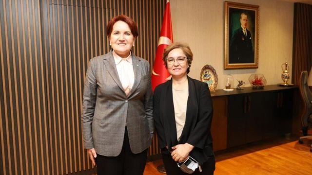 Meral Akşener ve Ayşe Sayın