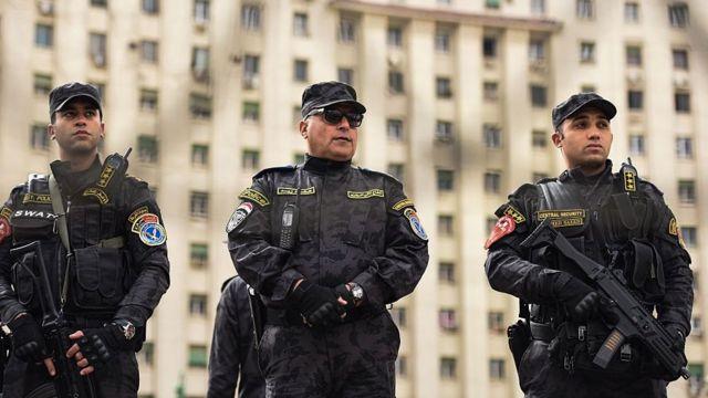 قوات تابعة للشرطة المصرية بميدان التحرير (صورة أرشيفية)