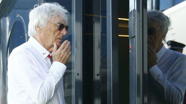 Bernie Ecclestone no GP da Alemanha