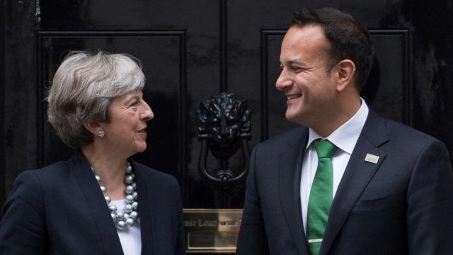 Tereza Mej i irski premijer Leo Varadkar