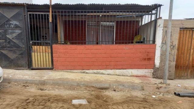 La casa de María José Bejares está ubicada en la población Los Industriales 2.