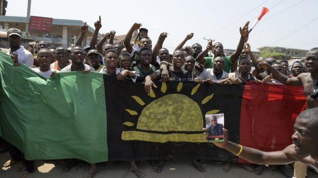 Ipob na Massob bụ otu abụọ chọrọ nwereonwe Biafra