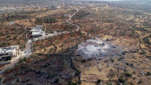 बग़दादी के ख़िलाफ़ अमरीका ने जहां कार्रवाई की