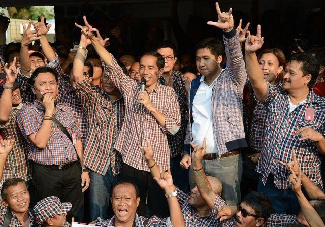 Joko Widodo saat terpilih sebagai Gubernur DKI Jakarta
