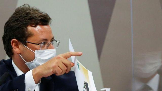Fabio Wajngarten na CPI