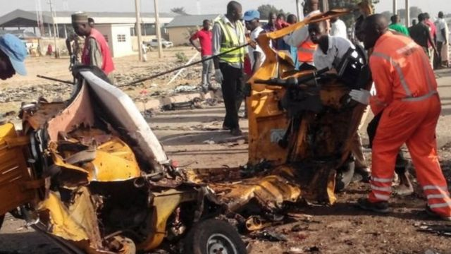 Shambulio la Bomu lililofanywa na Boko Haram