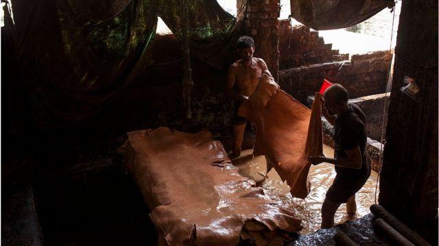 বাংলাদেশে কোরবানির সময় চামড়ার চাহিদার ষাট শতাংশ পূরণ হয়ে থাকে