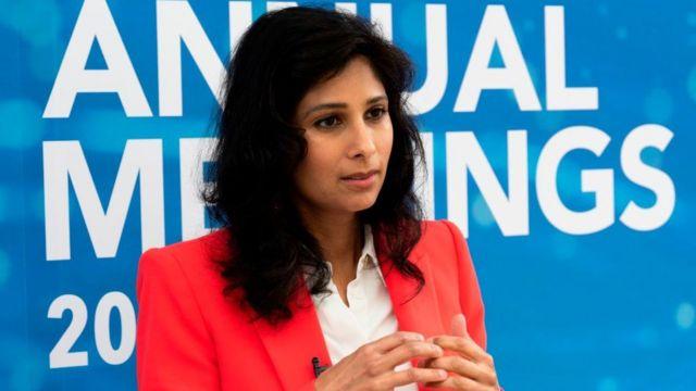 economista jefe del FMI Gita Gopinath