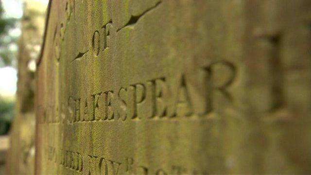 A gravestone in Tewkesbury