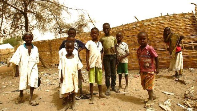 کودکان در دارفور سودان