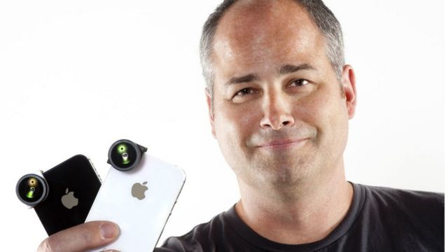 The man who bet his house on his mobile phone invention