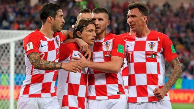 克罗地亚队在本届世界杯中