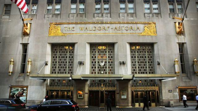 La facahda del Waldorf Astoria