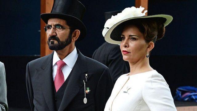 принцесса Хайя с супругом