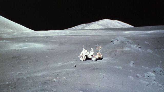 Apolo 17 en la Luna.