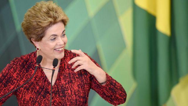 Perezida wa Brezil Dilma Rousseff
