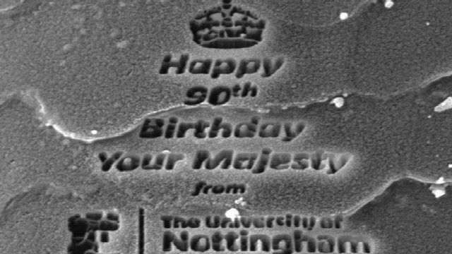 Queen's birthday message on corgi hair