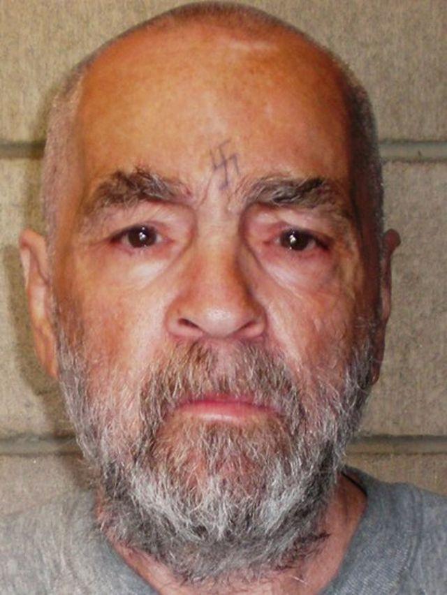 Charles Manson en una foto de 2009