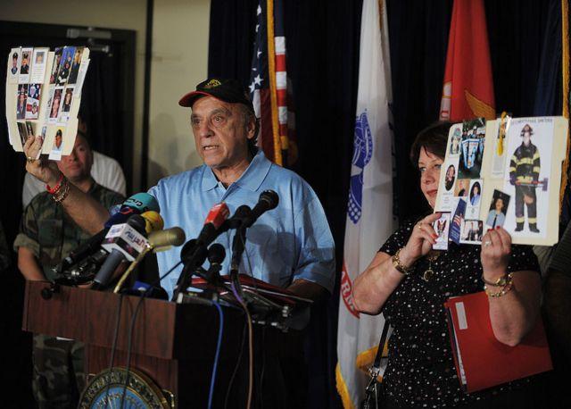 Famílias de vítimas do 11 de setembro