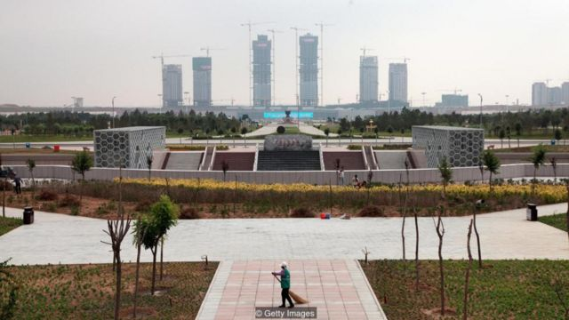 In China's ghost cities, apartment blocks, shopping complexes, plazas and parkland lie empty