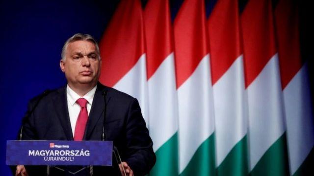 Líder populista húngaro Viktor Orban