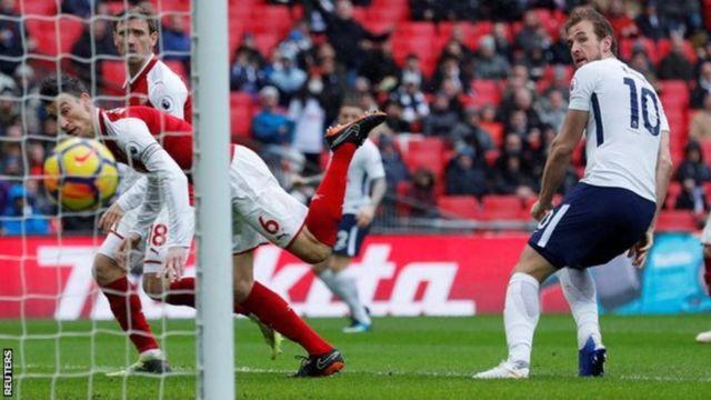 Igitsindo ca Harry Kane kibaye ic'indwi mw'ihiganwa rya Premier League