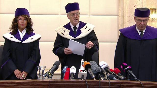Corte Constitucional de Austria.