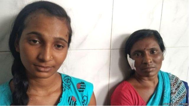 रुपाली आणि तिची आई जीजाबाई