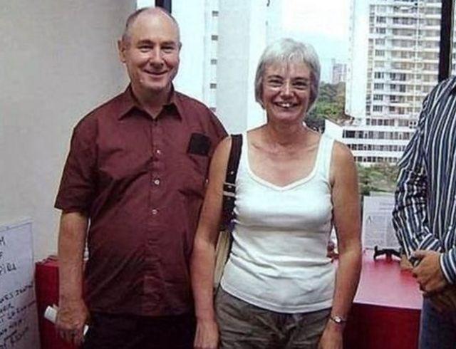 Jhon y Anne Darwin