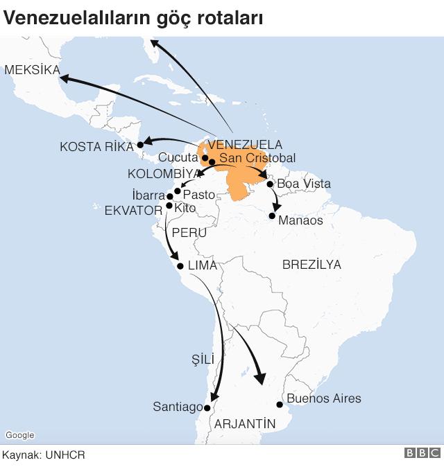 göç haritası