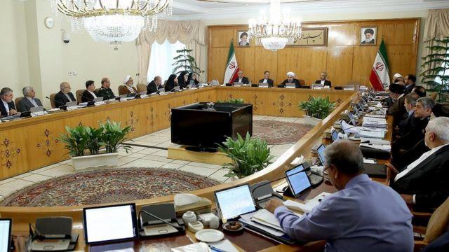 جلسه هیات دولت ایران