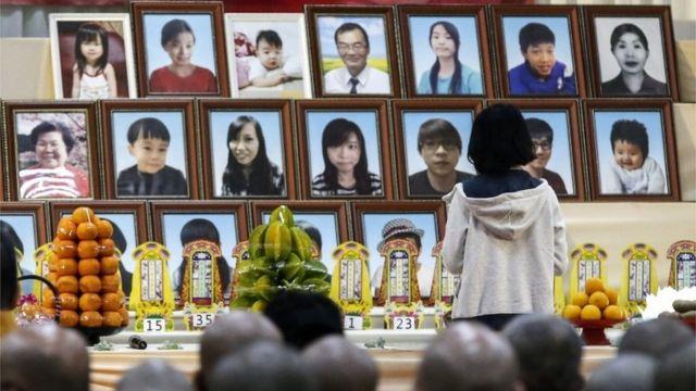 地震被害者の追悼式