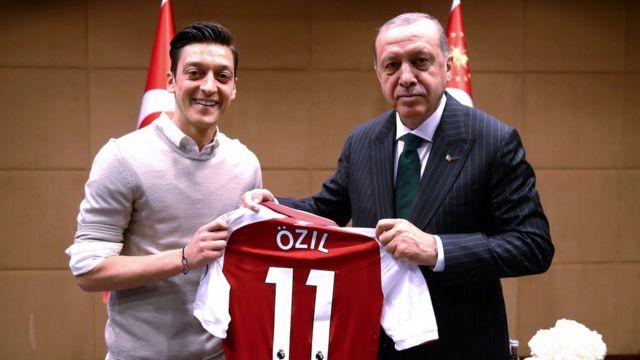 Mesut Ozil dan Presiden Erdogan
