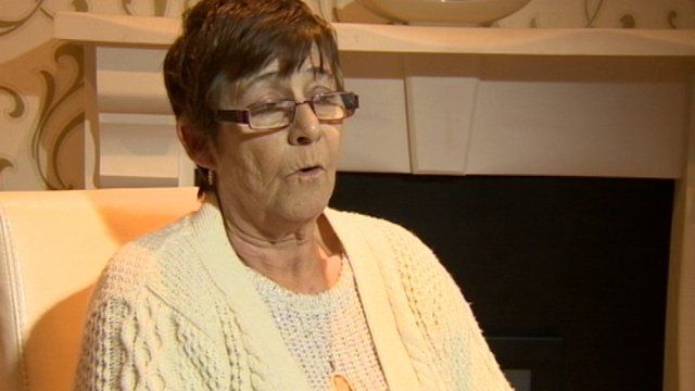 Emma McBride told BBC News NI that she wants other people in a similar situation to get help