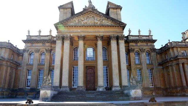 North Steps at Blenheim Palace