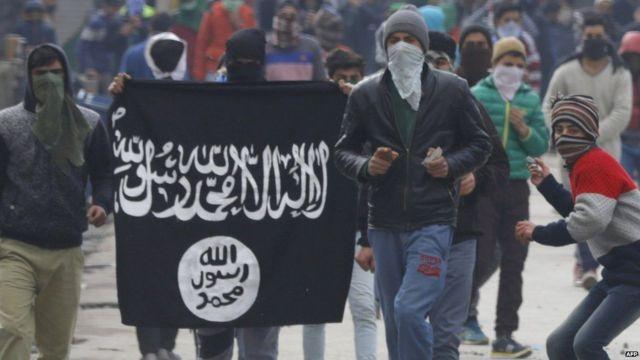 कश्मीर, इस्लामिक स्टेट