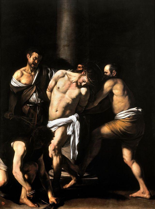'A flagelação de Cristo', de Caravaggio