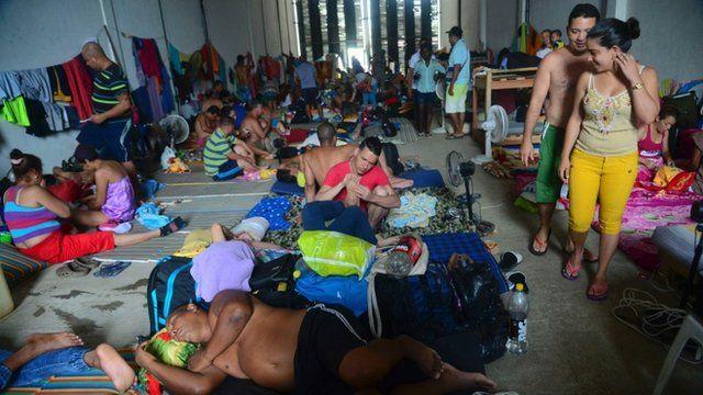 """Antes del fin de la política """"pies secos, pies mojados"""" muchos cubanos intentaron llegar a Estados Unidos por tierra, atravesando Centroamérica y México."""