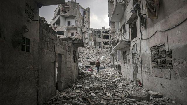 İdlib'in Ariha ilçesi