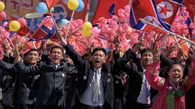 किम जोंग-उन, उत्तर कोरिया, उत्तर कोरिया स्थापना दिवस परेड, North Korea, Kim Jong-un