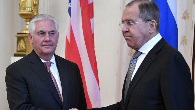 مسکو کې د چارشنبې په ورځ د امریکا او د روسیې د بهرنیو چارو وزیرانو خبرې وکړې