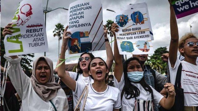 印尼三八大遊行