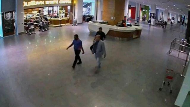 吉隆坡機場監視錄像