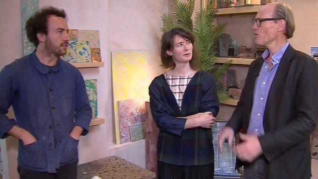 Will Gompertz talks to two members of art collective Assemble