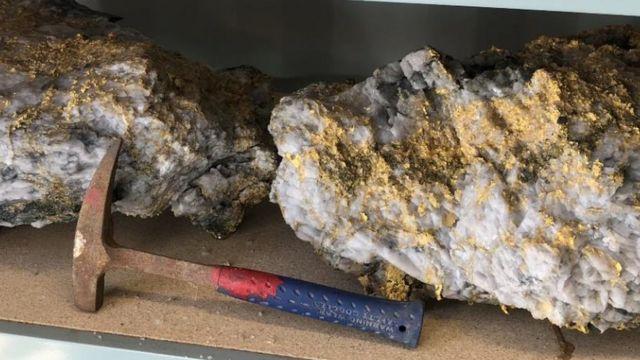 Así Son Las Excepcionales Rocas Llenas De Oro Encontradas En Australia Que Valen Casi Us 5 Millones Bbc News Mundo