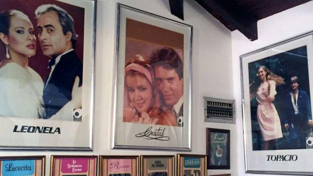 Carteles de telenovelas escritas por Delia Fiallo